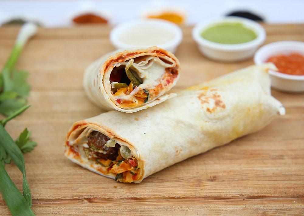 falafel wrap falafel selber machen momen food