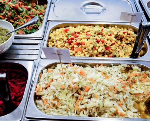 vegetarische gerichte salate momen